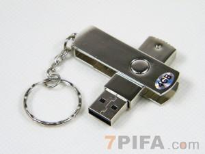 4G UU-01不锈钢优盘/U盘