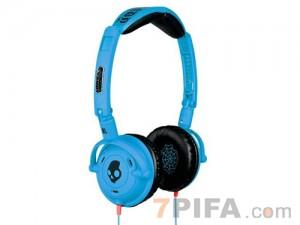 [折叠大耳机] 骷颅头 折叠时尚多功能耳机