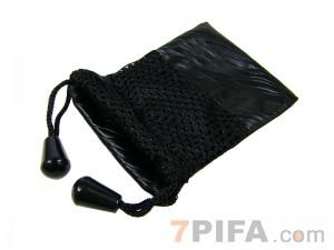 [黑色]手机耳机时尚布袋[低于成本价]