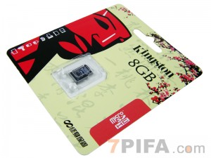 8G MicroSD Kingston金士顿TF闪存卡