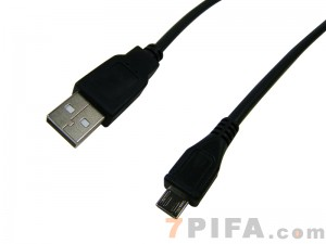 [30CM] USB AM/迈克Micro5P 转接线