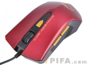 [玫瑰红6D] MG-201 猛豹6D变速高档鼠标[USB]