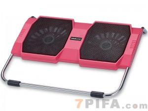 [粉红色]RL-309 战盾冰锐笔记本高级散热垫\散热风扇