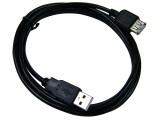 [包头黑色线]1.8米 AM/AF USB2.0延长线