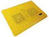 [黄色]T-215A 冰蝶全铁网面高性能笔记本电脑散热器\散热垫
