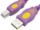 1.5米 晶华AM/BM 全铜标准USB2.0灰色系列打印线