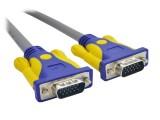 5米 晶华VGA3+6全铜公M/公M灰色系列连接线