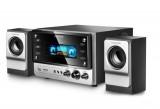 恩科 V2185炫彩带屏插卡多媒体电脑音箱木质2.1低音炮
