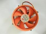 镀铜 极旋风 FY-775-F018 CPU风扇 黄色叶片 电脑CPU风扇