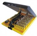 JK6089-A 多功能 螺丝批套装 螺丝刀工具45合1弯头螺丝刀