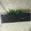 联想全黑单键盘