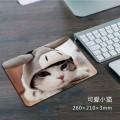 可爱小猫方形鼠标垫[260X210X3MM]