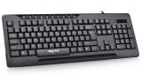 [带多媒体按键]W919爱国者高端精品商务办公台式电脑键盘USB