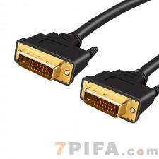 3米百迹DVI数据线24+1电脑显示器高清视频连接线公对公