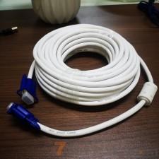 10米 白线蓝头VGA高清连接线