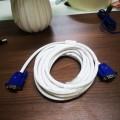 5米 白线蓝头VGA高清连接线