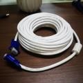 20米 白线蓝头VGA高清连接线