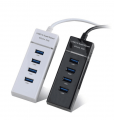 USB3.0HUB4口集线器 3.0一拖四USBHUB扩展器 3.0USBHUB