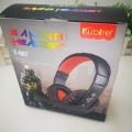 997酷比特电脑游戏耳机台式头戴式耳麦重低音带麦话筒